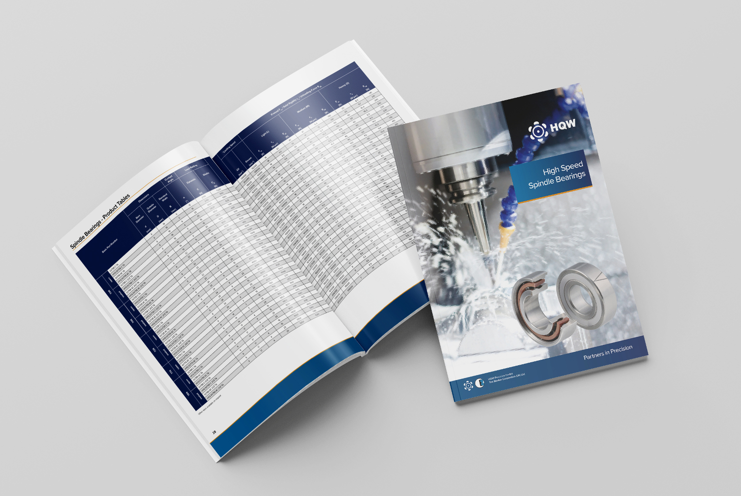 Spindle bearing catalogue HR